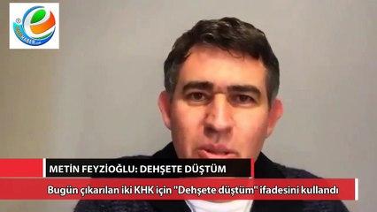 Metin Feyzioğlu'ndan yeni KHK'larla ilgili flaş açıklamalar: Dehşete düştüm. İnsanlar birbirinin kafasına sıkacak