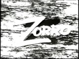 Zorro TV S commercial (1950s) - Guy Williams | Johnston McCulley