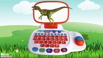 Jurassic Dinosaurs for Kids! Learn Dinosaurs Names Sounds | Learning Dinosaurs fun cartoons