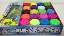 Kids Dough Kids Toys Super Pack with Molds Learn Colours Fun & Creative for Kids & Babies