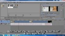 Sony Vegas Pro 12 - Sony Vegas Pro 12  - Snap Shot Tutorial [ Screen Capture ]-zcZp5EIMiB4