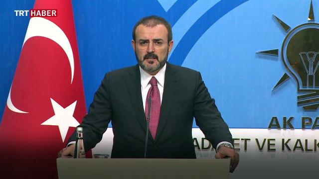 AK Parti Sözcüsü Mahir Ünal: Sivillere ceza muafiyeti darbeye direnenleri kapsıyor
