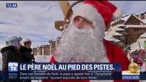 L'interview exclusive du Père Noël au pied des pistes de Val Thorens