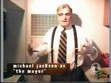 Michael Jackson INCOGNITO as THE MAYOR! GHOSTS