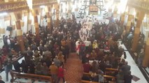Syriac Catholics Gather for Christmas Eve Mass in Baghdad's Church of the Lady of Salvation