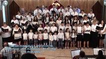 Iglesia Evangelica Pentecostal. Alabanza del Coro de la Iglesia, junto al coro de niños(1). 03-12-2017