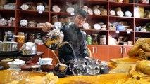 Chinese Food - YELLOW BEEF Hot Pot and Hot CHILI OIL RECIPE! | Yunnan, China Day 3