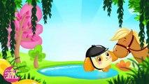Au galop cavalier - La chanson du cheval pour les petits - Titounis - YouTube