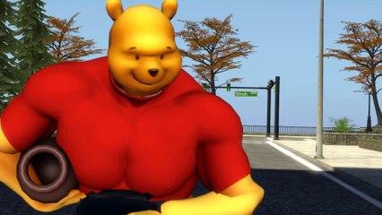 뭔가 잘못된 곰돌이 푸 Weird Pooh