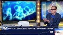 Anthony Morel: Des sièges d'avion qui mesurent le stress des passagers - 26/12