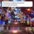 Ce quartier est le mieux décorés des USA... Illuminations de NOEL