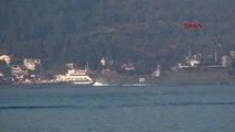 Çanakkale Rus Savaş Gemisi Akdeniz'e İniyor