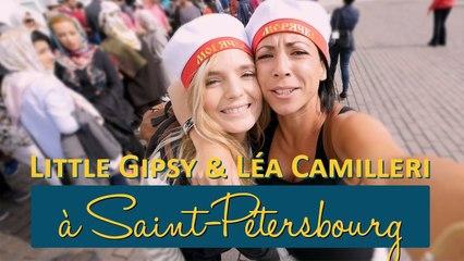 Léa Camilleri et Little Gipsy à Saint-Pétersbourg