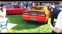 Chevrolet Camaro vs Dodge Chellenger Old vs New Car Revving vesves