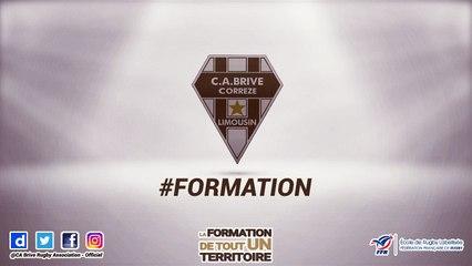 La formation du CA Brive Rugby vous souhaite une bonne année 2018 !