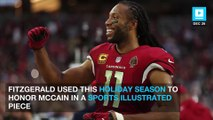 Cardinals' Larry Fitzgerald Pays Tribute to John McCain