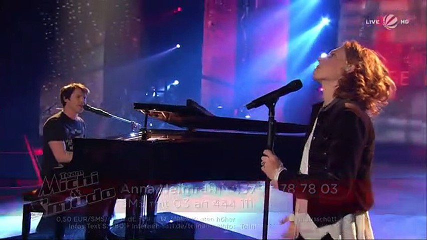 """Anna Heimrath und James Blunt: """"Don't Give Me Those Eyes"""" Finale 
