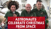 This is how NASA celebrates Christmas at space station