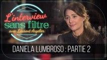 """Daniela Lumbroso sur son rôle de mère : """"Je n'ai pas été très présente"""""""