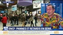 SNCF: pannes et retards en série