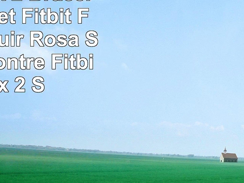 Fitbit Flex 2 Bracelet Bracelet Fitbit Flex 2 en Cuir Rosa Schleife Montre Fitbit Flex 2