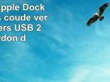 StarTechcom Câble connecteur Apple Dock 30 broches coudé vers le bas vers USB 2 m