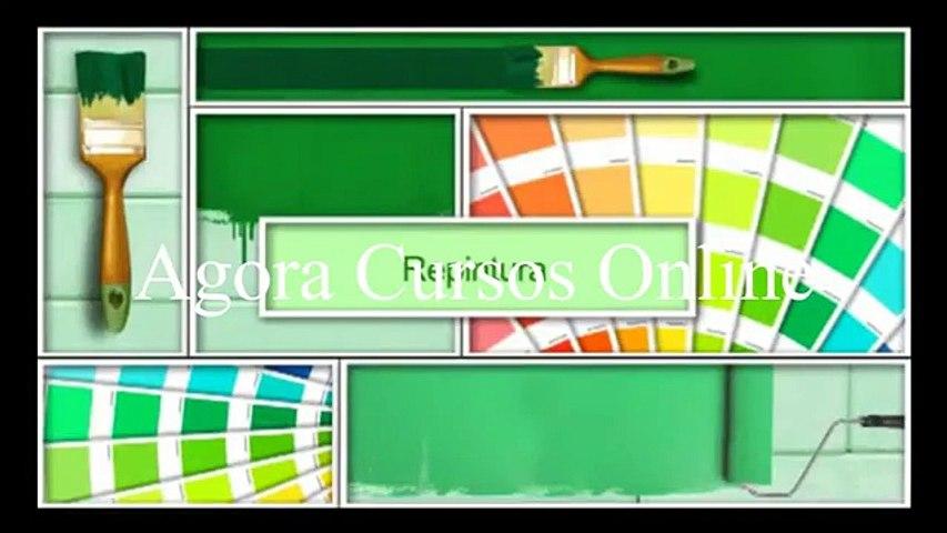 Pintor 05 Pintor de Parede - Agora Cursos Online Completos | Godialy.com