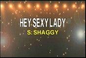 Shaggy Hey Sexy Lady Karaoke Version