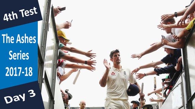 Australia vs England | 4th Test | Day 3 | 28 Dec 17 | Alastair Cook 5th Double Century | Highlights
