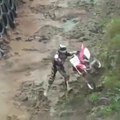 All Motorcycle Riders Fall In Racing - The Forest Track Motorcycle Racing - All Riders Fall