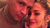 Jennifer Lopez and Alex Rodriguez _ Instagram _ December 25, 2017