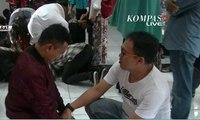 Geng Motor di Sukabumi Nangis dan Cium Kaki Ortu