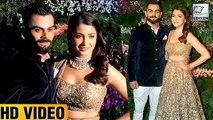Anushka Sharma & Virat Kohli's GRAND ENTRY At Mumbai Reception