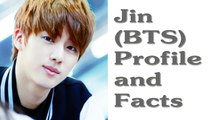 BTS Jin Profile and Facts | KPOP Bts