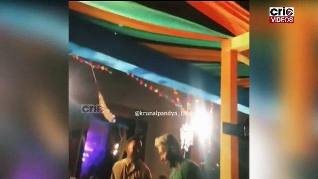 Hardik Pandya & Krunal Pandya Crazy Dance at Wedding Reception