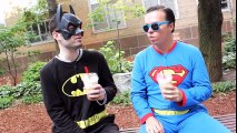Batman v Superman  Dawn of Justice (Lazy Version) | Superheroes | Spiderman | Superman | Frozen Elsa | Joker