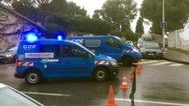 Fuite de gaz : une torchère installée dans un boulevard à Marseille