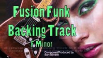 JazzFusion Funk Backing Track in F Minor Cool Breeze HD720 m2 Basscover Bob Roha