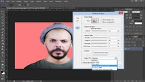 'Photoshop Tutorial- How to Create a Cool, Torn Paper effect Portrait' - Photoshop Tutorial