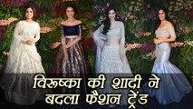 Virat - Anushka Reception: Bollywood actresses in Lehengas at Virushka's reception | Filmibeat