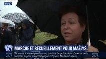 """""""On est tous touchés"""", les participants à la marche pour Maëlys expriment leur soutien"""