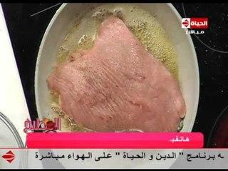 برنامج المطبخ - صدور الديك الرومي بالسبانخ والمارون - الشيف يسري خميس - Al-matbkh