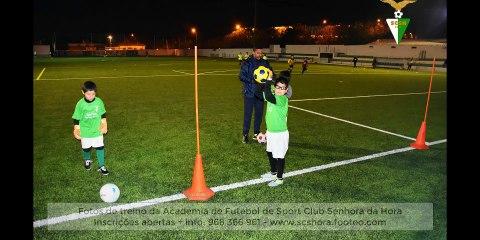 Fotos de treino de Futebol Sport Clube Senhora da Hora