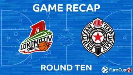 7DAYS EuroCup Highlights Regular Season, Round 10: Lokomotiv 99-64 Partizan