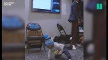 Le bébé de ce footballeur américain danse beaucoup mieux que vous