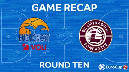 7DAYS EuroCup Highlights Regular Season, Round 10: Buducnost 76-62 Lietkabelis
