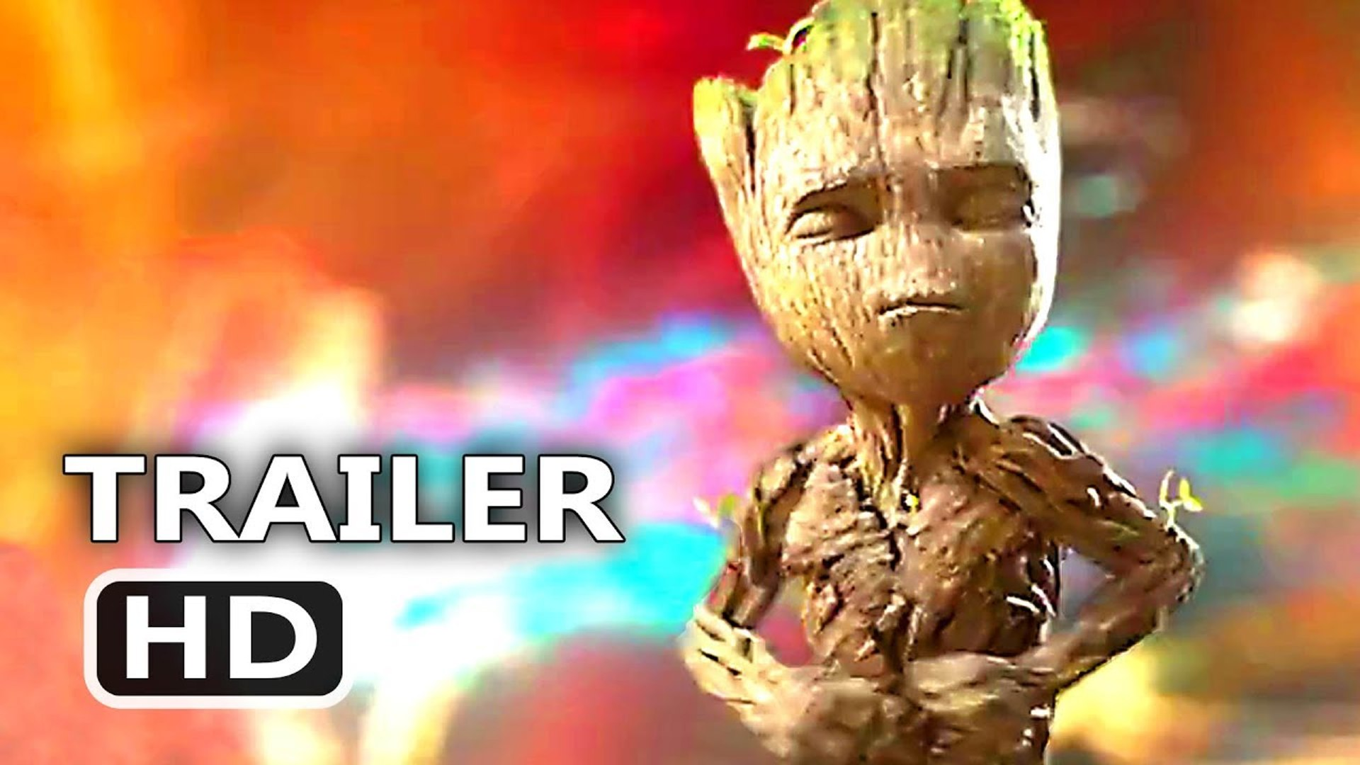 GUARDIANS OF THE GALAXY 2 - Full BABY GROOT Dance Clip