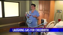 More Women Choosing Laughing Gas to Reduce Pain During Childbirth