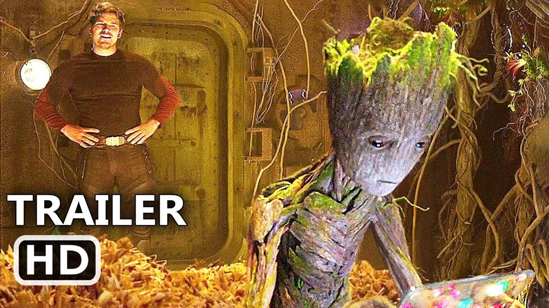 GUARDIANS OF THE GALAXY 2 Teen Groot Extended Scene