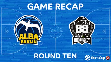 7DAYS EuroCup Highlights Regular Season, Round 10: ALBA 86-68 Bilbao